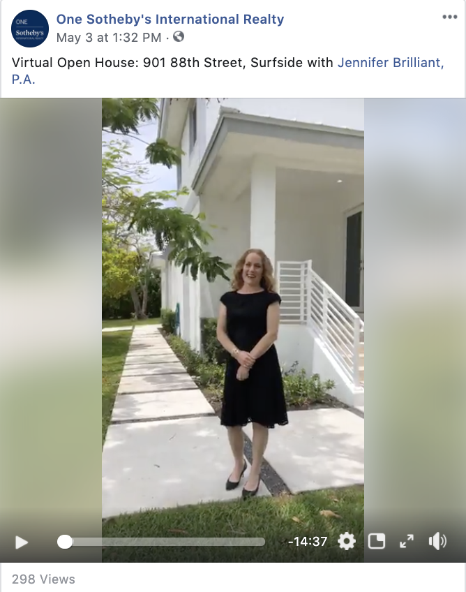 One Sotheby's International Realty Facebook Live